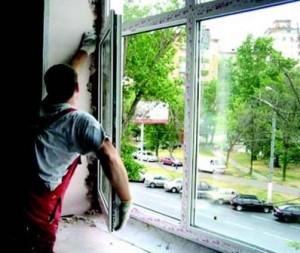 Монтаж окна одесса